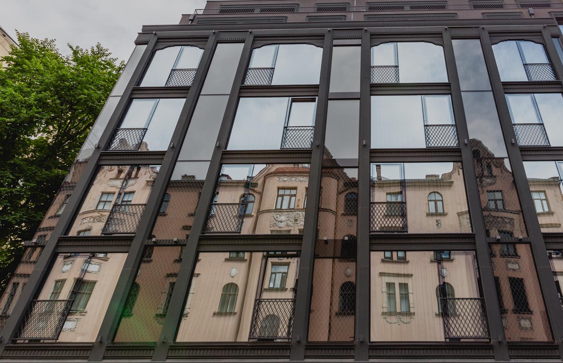 Новостройка гостиничного здания, Базницас 18, Рига
