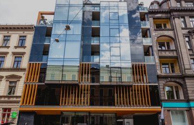 Торгово-офисного и жилого здание — новостройка, Элизабетес 39, Рига